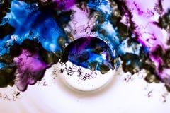 Плита с абстрактной моделью Стоковые Изображения RF