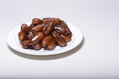 Плита сладостных дат Стоковое фото RF