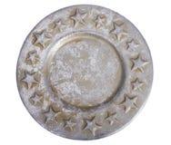 Плита с звездами Стоковое фото RF