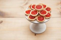 Плита с красной икрой Стоковое Изображение