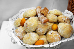 Плита с печеньями Стоковое Фото