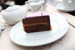 Плита с тортом Стоковое Изображение