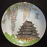 Плита фарфора Shibata Стоковые Фотографии RF