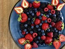 Плита ягоды Стоковые Изображения RF