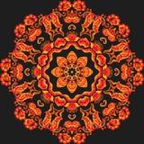 Плитка азиата шнурка образца вектора иллюстрация круга предпосылки применений много полезный вектор иллюстрация вектора