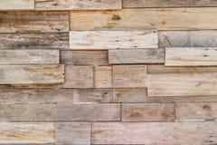 Плитка деревянного блока для предпосылки Стоковая Фотография