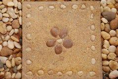 Плитка картины цветка Стоковые Фотографии RF