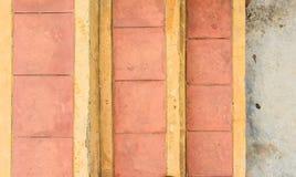 Плитка кирпича лестницы Стоковые Фотографии RF