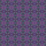 Плитка фиолетового & зеленого яркого блеска безшовная Стоковая Фотография RF