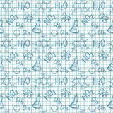 плитка химической бесконечной картины предпосылки безшовная Предпосылка вектора Стоковые Изображения RF
