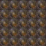 Плитка Seanless водоворота цветка Стоковые Изображения RF