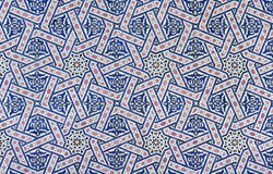 Плитка Zellige марокканца стоковое изображение