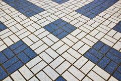 Плитки аранжированные в геометрическом Стоковые Фото