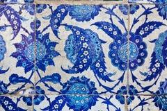 Плитки в мечети Rustem Pasa, Стамбуле Стоковое Изображение RF