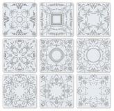 Плитки декоративной отделкой керамические Стоковая Фотография RF