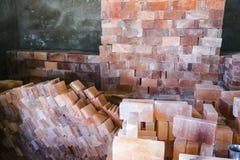 Плитки каменной соли стоковая фотография