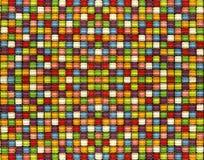 Плитки мозаики цвета конфеты стоковое фото