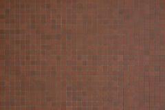 Плитки покрашенные терракотой малые Стоковое фото RF