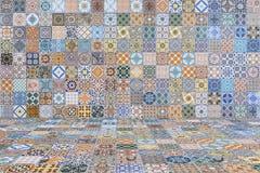 Плитки пола и стены винтажные керамическо Стоковая Фотография RF