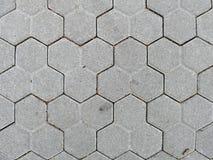 Плитки улицы закрывают вверх текстурированная предпосылка Стоковое Фото