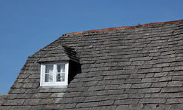 Плитки шифера на крыше Стоковое Изображение RF