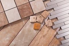Плитки для квартир дизайна интерьера Стоковое Фото