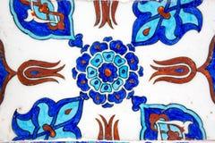 Плитки Iznik в мечети Rustem Pasa, Стамбуле Стоковые Фото