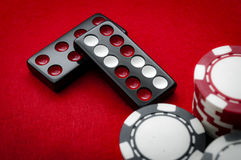 Плитки Pai Gow казино Стоковая Фотография