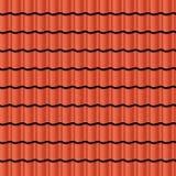 плитки seville Испании крыши строба крепости carmona иллюстрация вектора