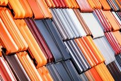 плитки seville Испании крыши строба крепости carmona Стоковое Изображение RF