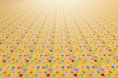 Плиточный пол Стоковая Фотография