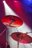 Плиты барабанчика на этапе Стоковое Изображение RF
