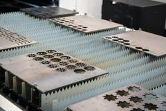 Плиты инструментального металла резца лазера Стоковые Изображения RF