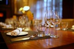 Плиты и стекла Стоковая Фотография RF