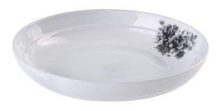 Плиты на белой предпосылке Стоковое Изображение RF
