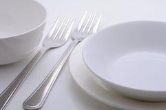 Плиты обедающего Стоковая Фотография RF