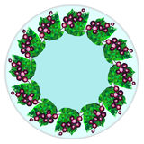 Плиты оформления, плодоовощи, ягоды Стоковые Изображения RF