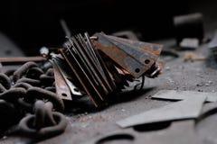 Плиты олова Стоковое фото RF