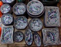 Плиты ручной работы и различных размеров Стоковые Фото