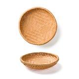 2 плиты wicker Стоковые Изображения