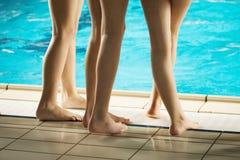 Пловцы стоковое изображение