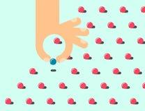 Плоская иллюстрация perfectionism бесплатная иллюстрация