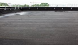 Плоская крыша с толем Стоковая Фотография