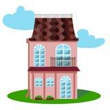плоская дом Стоковое Фото