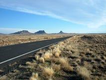 плоская дорога Стоковое фото RF