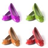 плоские ботинки Стоковые Фото