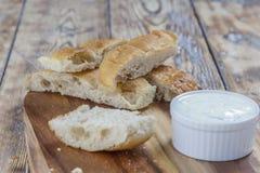 Плоские ручки хлеба Стоковое Изображение RF