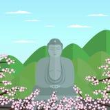 Плоский Будда Стоковое Фото