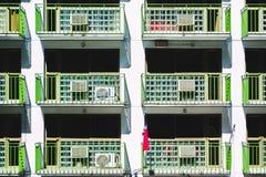 Плоский взгляд здания Стоковые Изображения RF
