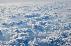 Плоский взгляд на гребнях снега Стоковые Фотографии RF